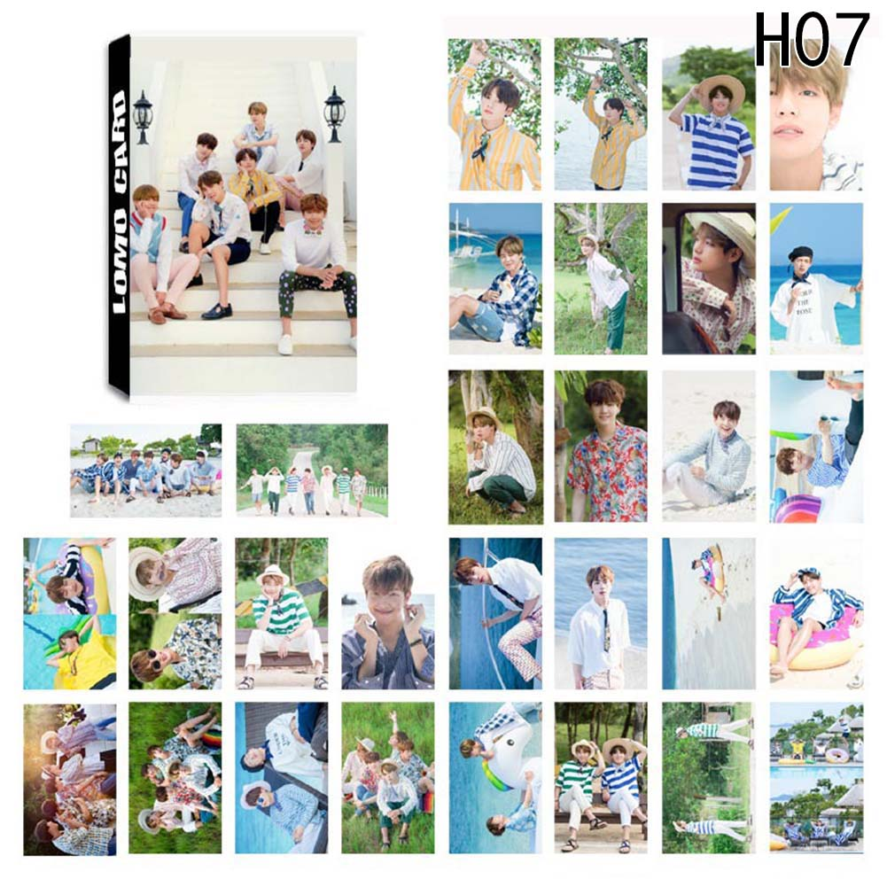 K-pop Bts Bangtan Boys Album Lomo Cards New Fashion Paper Photo Card Hd Photocard