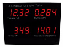 EPM5700 digital panel DC watt meter/ 12V power / dc electric parameter tester
