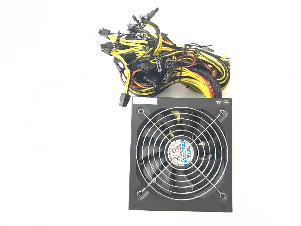KUANGCHENG ETH ZCASH Gold POWER 1800W  use for R9 380 RX 470 6GPU card Antminer L3 s9 baikal  x11 Asic BTC litecoin MINER