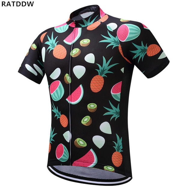 5183cc1d1 2019 fruit Men Cycling Jersey Quick Dry Summer Watermelon Bicycle Clothing  Cycle Wear Shirt Ropa Ciclismo MTB Bike Jerseys Tops