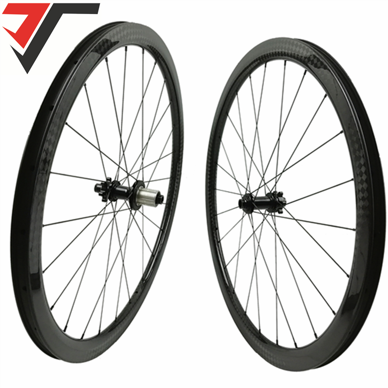 1f0a8fa7e4e TRIPS 700C carbon Disc Brake wheels 35mm Height road bike carbon Wheels  Clincher cyclocross Gravel wheelset tubeless compatible