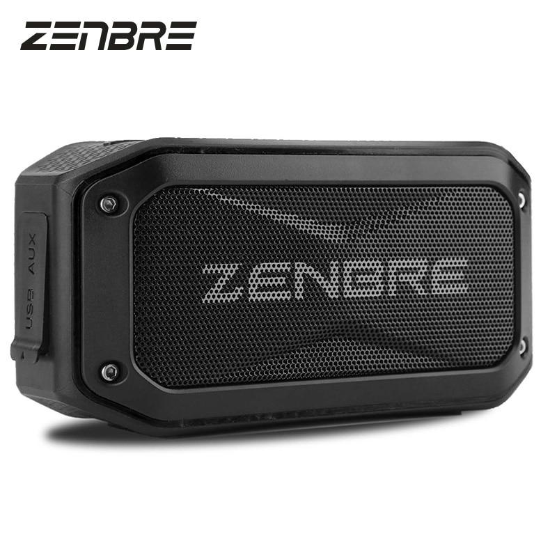 Bluetooth <font><b>Speakers</b></font>, ZENBRE D5 6W/40h Play-time Wireless <font><b>Speaker</b></font>, IPX7 Waterproof / Shockproof Portable <font><b>Speaker</b></font> with 52mm <font><b>Speaker</b></font>