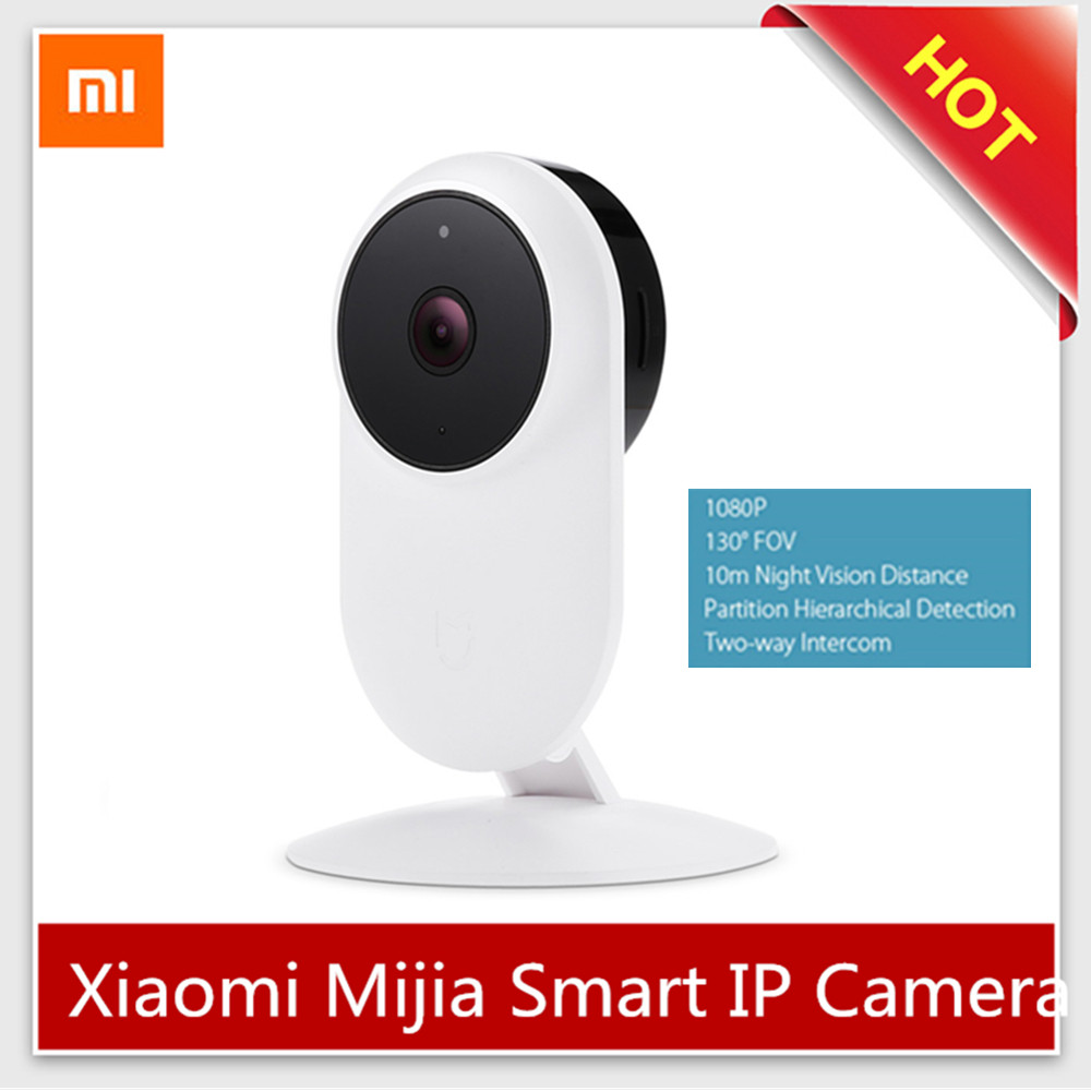 Original Xiaomi Mijia 1080P Smart IP Camera Infrared 2.4G Dual-Band Baby Monitor WiFi Night Version Two-Way Intercom Radio Nanny
