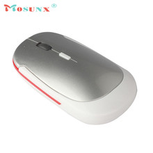 Mosunx MINI 2.4GHz 1600 DPI Wireless Cordless Optical Mouse Professional Gaming Mouse Mice for PC Laptop USB 2.0 Game Mouse A19
