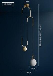 Image 3 - Retro Loft Restaurant Lift Lighting Industrial Creative Pulley Hanging Light Dining Room BAR Kitchen Designer Led Lights