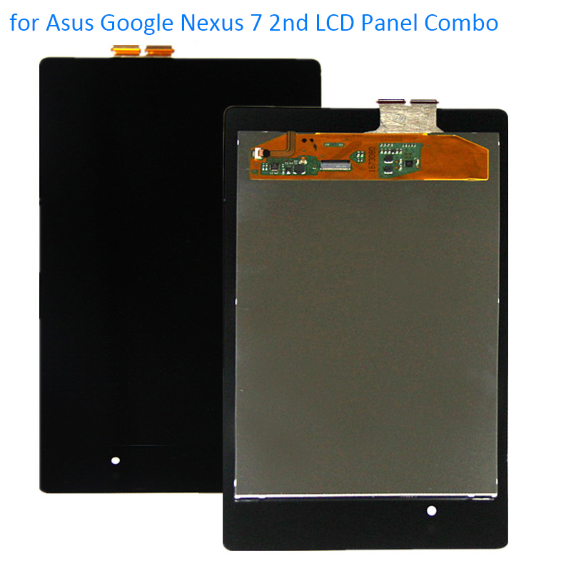 ALANGDUO for Asus Google Nexus 7 2nd Generation 2013 ME571K ME571KL K008 LCD Display with Touch Screen Digitizer Front Panel