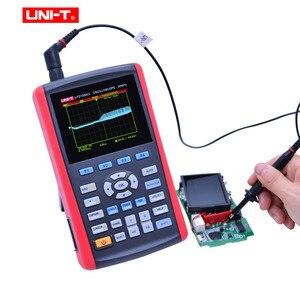 """Image 5 - UNI T UTD1025CL راسم الذبذبات الرقمية المحمولة 3.5 """"LCD شاشة ديجيتال راسم الذبذبات مقياس السيارات بالكامل مع المتعدد"""