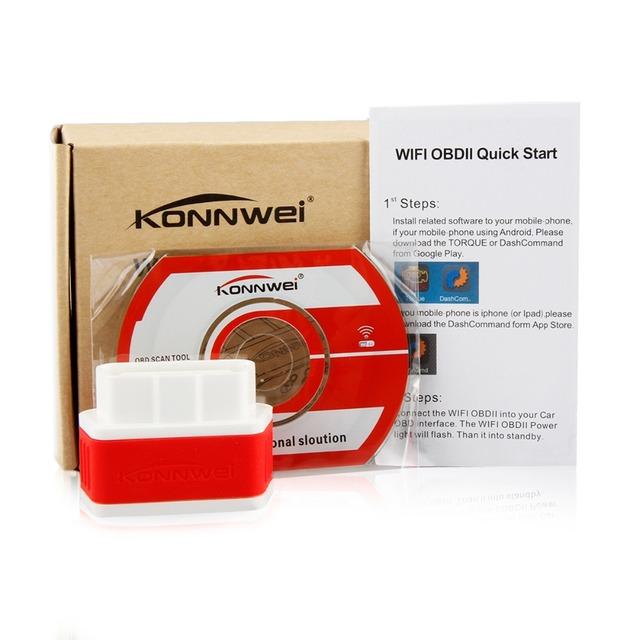 ELM327 V1.5 OBD2 Scanner PIC18F25K80 KONNWEI KW903 Bluetooth OBD 2 Diagnostic Tool ELM 327 Code Reader Auto Scanner