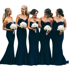 Bbonlinedress Sweetheart bridesmaid dresses 2019 classic mermaid Bridesmaid gowns Spandex Party wedding party prom dress