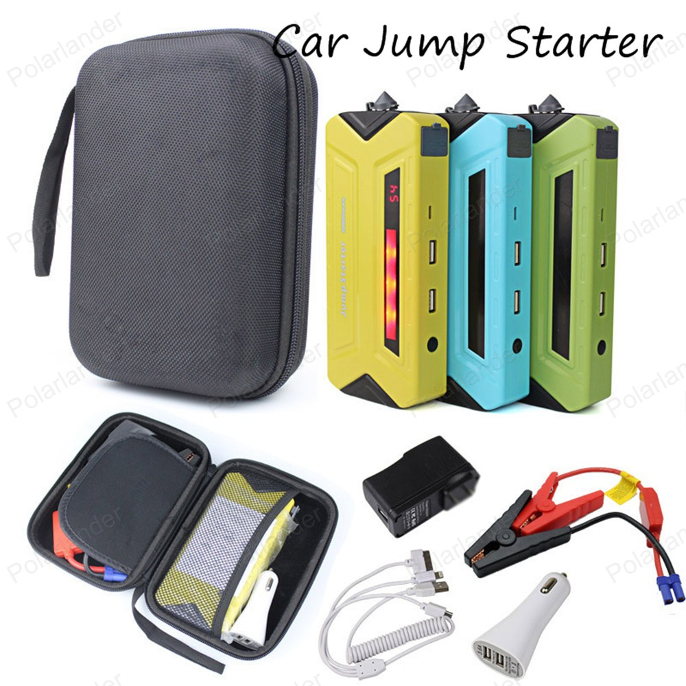 ФОТО Super 12000mAh Car Jump Starter Auto Engine EPS Emergency Start Battery Source Laptop Portable Charger Mobile Phone Power Bank