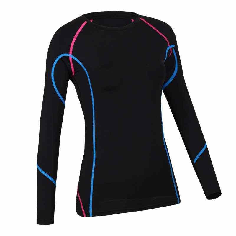 Las mujeres gimnasio Camisetas largas T camisas ropa de Fitness Deporte Sudaderas para mujer Sudadera con capucha camiseta de Yoga con capucha chaqueta Tops WA35