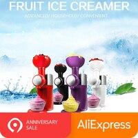 Frozen Fruit Dessert Maker Machine DIY Frozen Yogurt Maker Home Full Automatic Mini Household Mini Fruit Ice Cream Maker