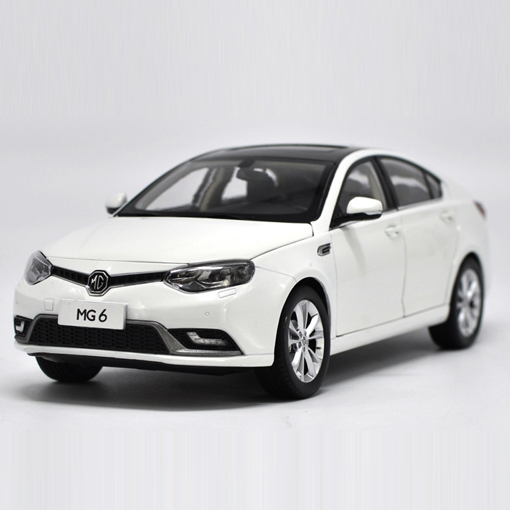 1:18 Diecast Car Model Of MG6 Type For Kids Children Gift And For Collection Free Shipping