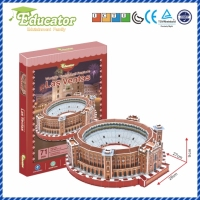 World Famous Architecture Spain 3D Puzzle Buliding Model LAS VENRAS DIY Puzzle Game Souvenir