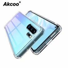 Akcoo P30 Pro case with Anti-Scratch Reinforced Corner Protection Bumper for Huawei Mate 20 lite Nova 3e Rugged Cover