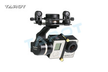 Tarot TL3T01 Update from T4-3D 3D Metal 3-axis Brushless Gimbal for GOPRO 4 3+for Gopro3 FPV Photography F17391