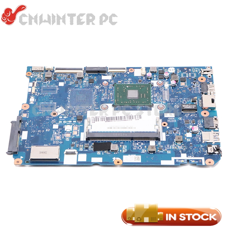 NOKOTION 5B20L72714 For <font><b>Lenovo</b></font> <font><b>Ideapad</b></font> <font><b>110</b></font>-15ACL Laptop <font><b>Motherboard</b></font> DG520 NM-B051 With A8-7410 CPU MainBoard image