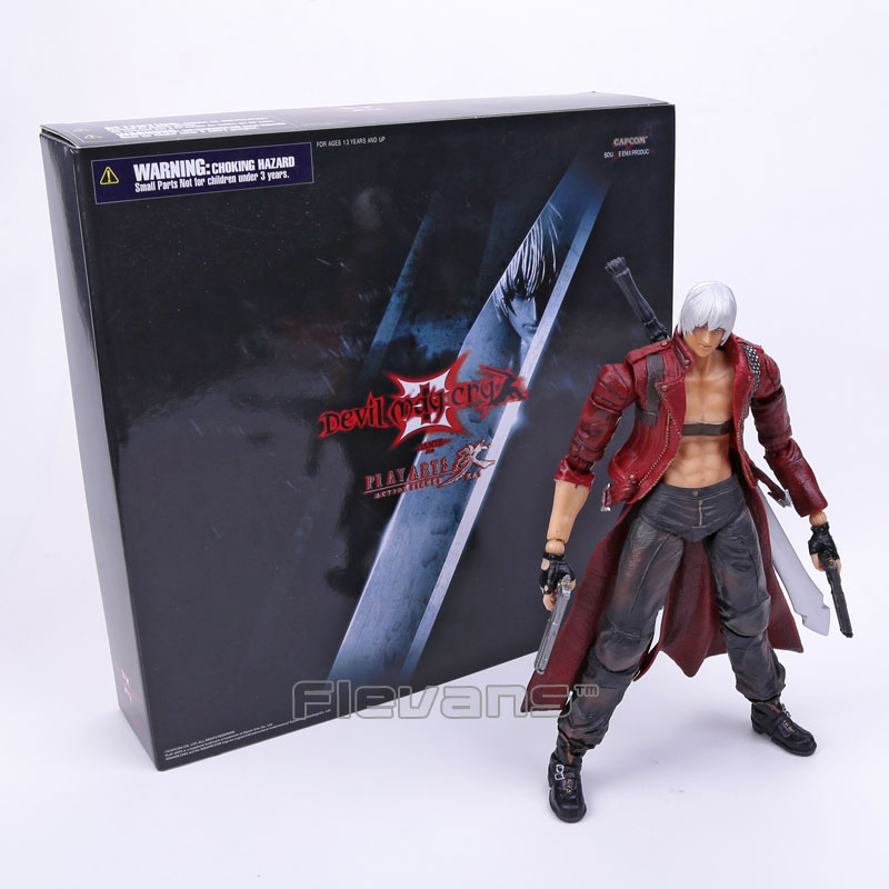 SQUARE ENIX Play Arts KAI Devil May Cry 3 Dante PVC Action Figure Collectible Model Toy 25cm леггинсы duwali