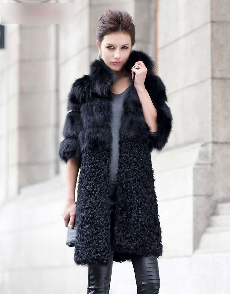 Popular Fur Fox Coats-Buy Cheap Fur Fox Coats lots from China Fur ...