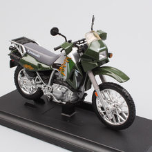1/18 scale Children's mini metal 2002 02 KAwasaki KLR 650 model dual sport motorcycle bike toys racing Diecasting gift for boys(China)