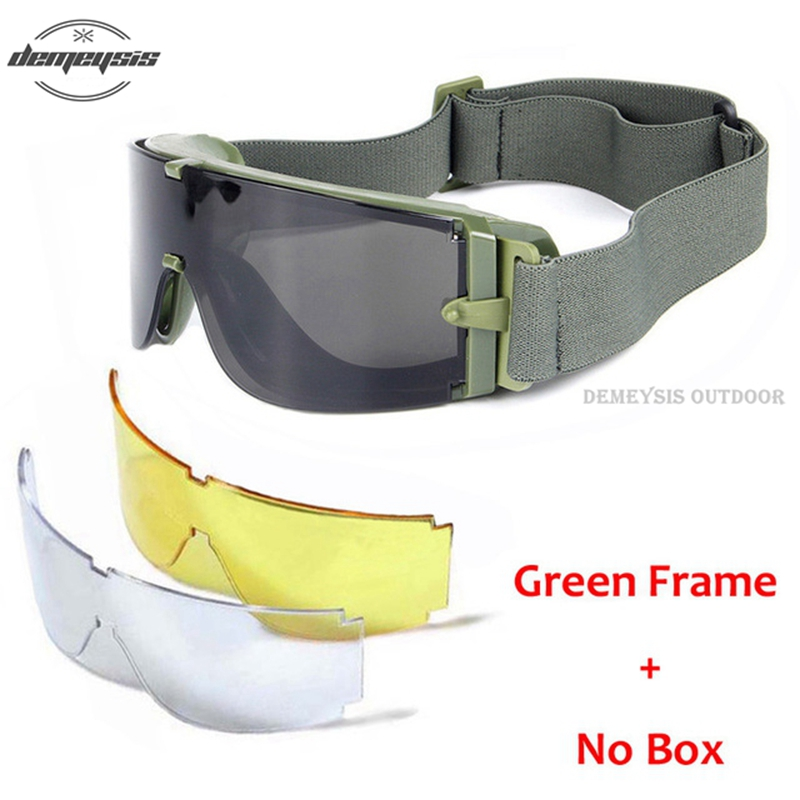 HTB16R0rXLfsK1RjSszbq6AqBXXaT - Military Airsoft Tactical Goggles Army Tactical Sunglasses Glasses Army Paintball Goggles
