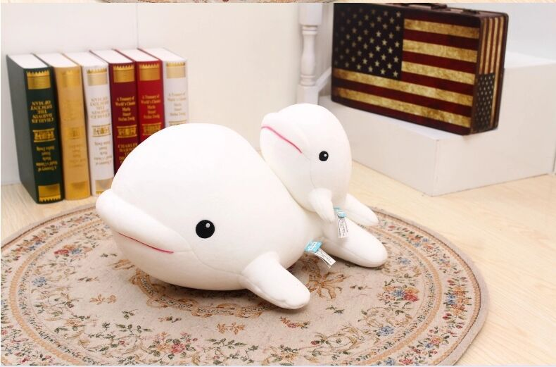 big size lovely foam dolphin toy big head white whale doll pillow gift about 70x30x40cm big plush whale toy big head white foam dolphin doll pillow gift about 70cm