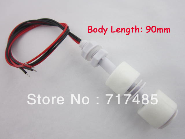5PCS Twin Float PP Water Level Sensor Horizontal Liquid Floating Switch Free Shipping