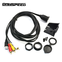 DANSPEED 2M 6 6Ft USB 3 0 To 2RCA 3RCA Female To Male 3 5mm Aux