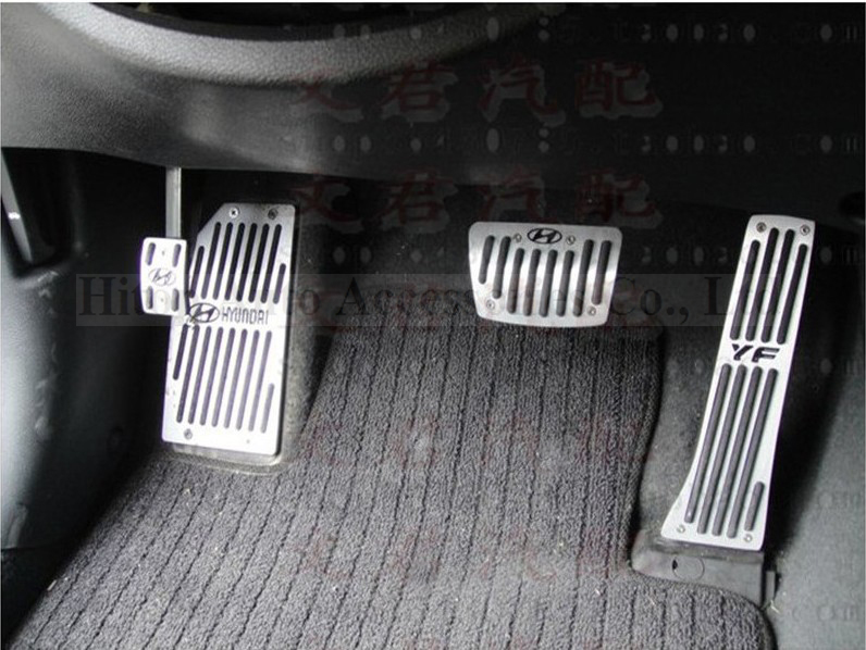 Online For Hyundai Ix35 Accelerator Foot Pedal Gas Clutch At Or Mt Two Choices Anti Slip Aluminum Aloy Slap Up Quality Aliexpress