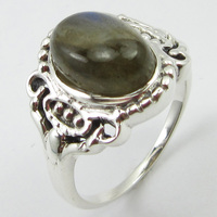 Labradorite Ring Size 8 New Wholesale Jewellery Silver Unique Designed