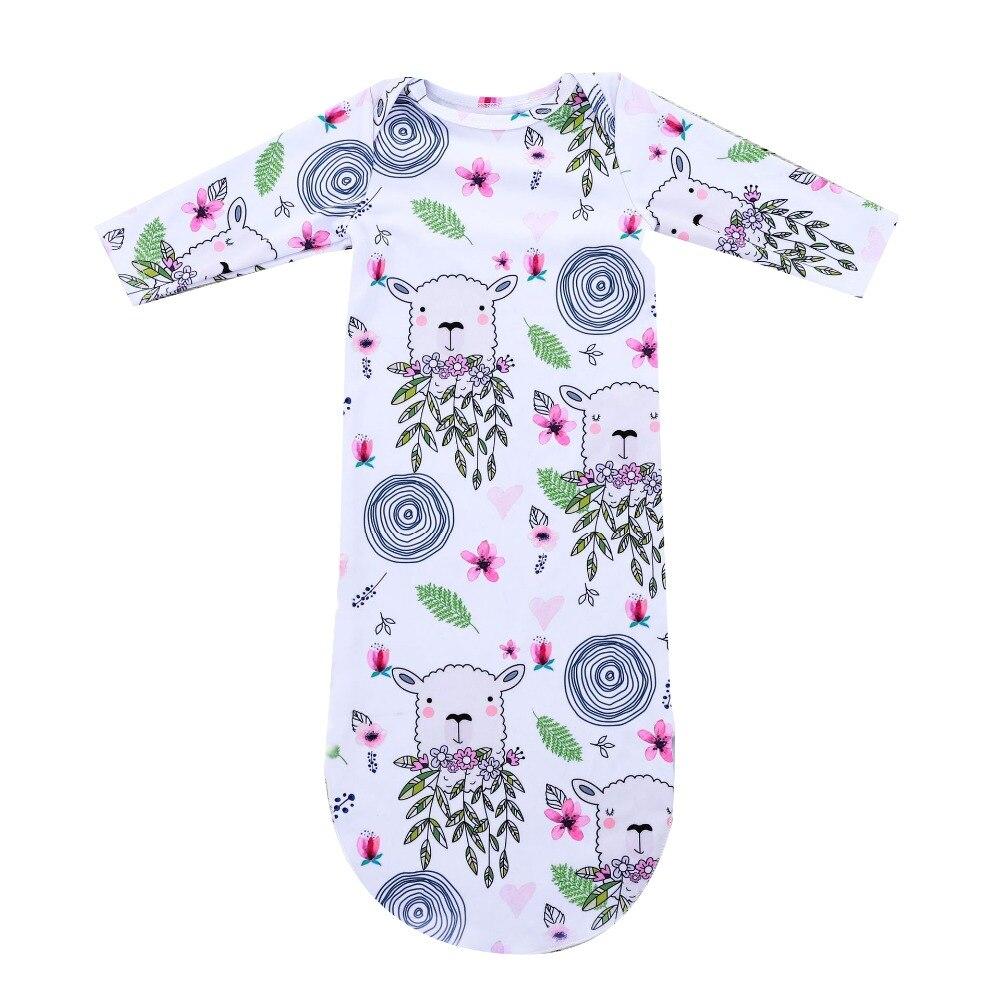 Ehrlich Floral Schwein Neugeborenen Baby Schlaf Sack Säugling Lange Hülsenspielanzug Schlafsack Pyjama Schlafsack Outfit Baby Junge Mädchen Baumwolle Insgesamt