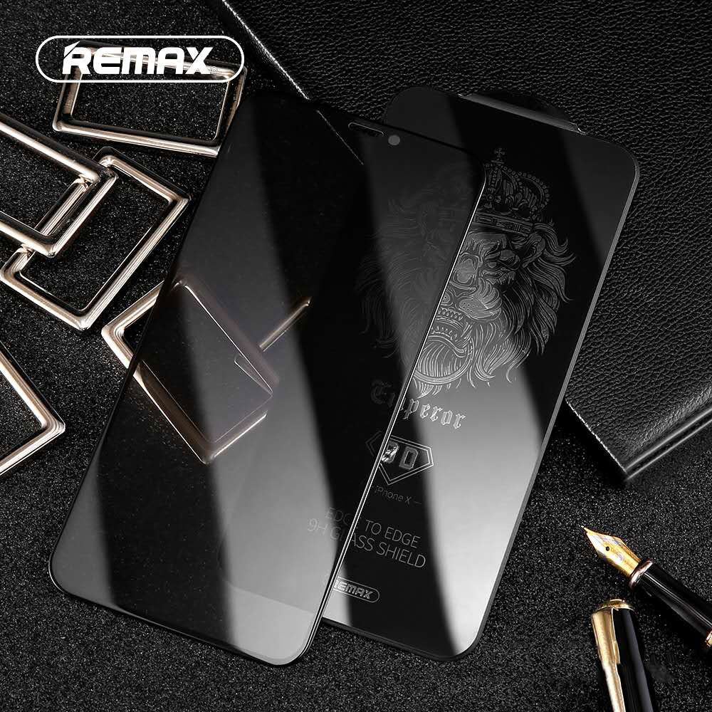 Remax 9D Anti-Privateness Full Cowl Tempered Glass Display Protector For Iphone Xs Xr Xsmax Curved Floor Cambered Peep-Proof Movie