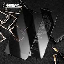 REMAX Protector de pantalla de vidrio templado 9D, cubierta completa Anti privacidad, para iPhone XS, XR, XSMAX, superficie curvada, película a prueba de Peep Proof