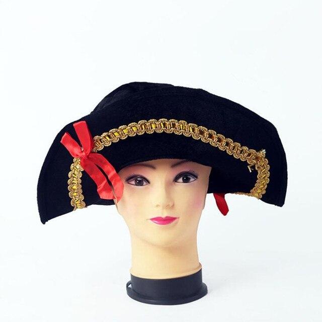 2018 creativo capitán pirata sombrero de pirata sombreros para niños  adultos pirata apoyos Cosplay Sombreros de 38b42985778