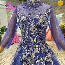 AIJINGYU Plain Wedding Dress Lace Ball Gown 2018 Medieval