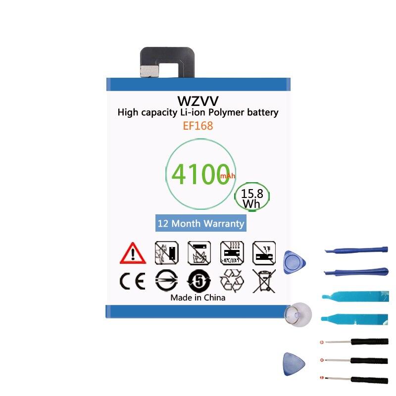 Wzvv 4100 mah Li-iPolymer Batterie EF168 Pour PPTV Rois 7 King7 PP6000 Batteries