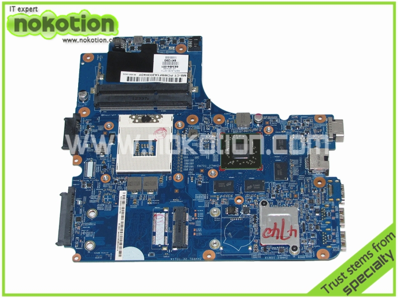 NOKOTION 683494-001 Laptop Motherboard for HP ProBook 4440s 4441s 4540s 4740s Intel HD4000 HD Mainboard full tested nokotion fiji mb 12238 1 48 4yz34 011 721523 001 laptop motherboard for hp probook 440 450 hd4000 ddr3 mainboard
