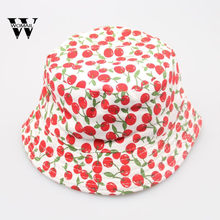 2018 new arrival Toddler Baby Kids Boys Girls Floral Pattern Bucket Hats Sun Helmet Cap Fisherman Hat HOT SALE Amazing May 2(China)