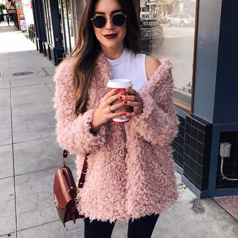[CHENS SISTER] Women 2018 Artificial Fur