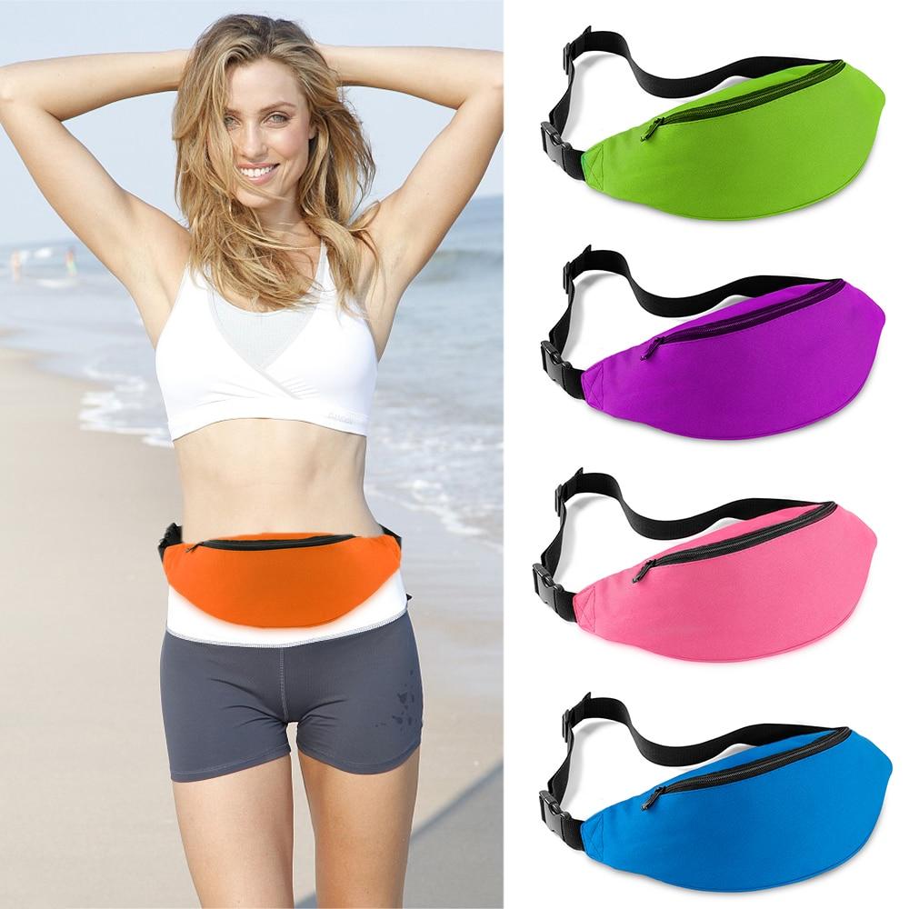 Unisex Waist Bag Travel Handy Pack Waist Belt Zip Pouch Handy Fanny Pack For Outdoor Travel Climbing Hiking Pocket Tools