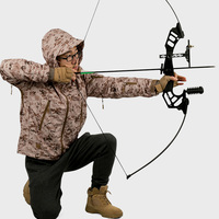 Outdoor Sports Archery Hunting 30 45Lbs Straight Pull Bow for Right Handed Compound Bow Shooting Game