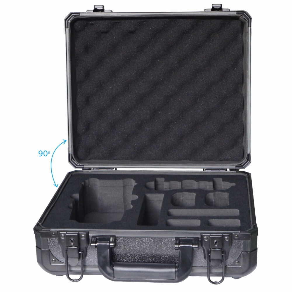 New Arrival Case Aluminum Outdoor Carry Box for DJI Mavic Pro RC Drone with Camera Protector FPV Spare Parts black color