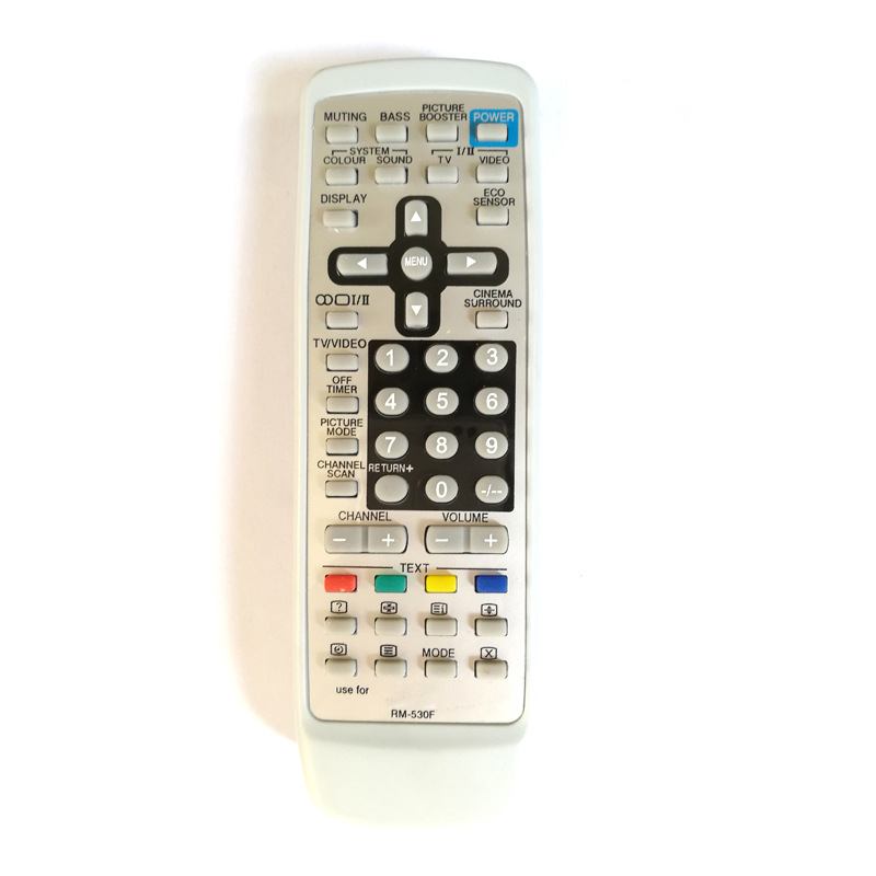 New Universal Remote Control Replacement For JVC RM-530F RM530F TV Fernbedienung Free Shipping