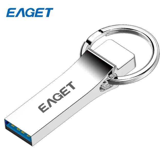 Eaget u90 usb flash drive de 3.0 64 gb 32 gb 16 gb usb pendrive mini Pen drive de metal USB 3.0 Flash Drive Memory Stick 3.0