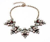 N00809 High Quality Cheap Price Wholesale Vintage Gold Color Short Choker Fashion Statement Necklaces Women Store Online