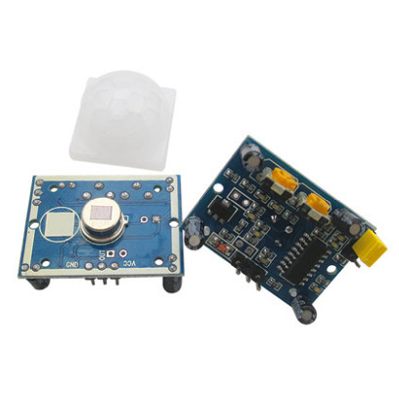 Free 2pcs HC-SR501 PIR Infared Sensor switch Pyroelectric Motion Sensor Detector Module 32mm*24mm Hot sale