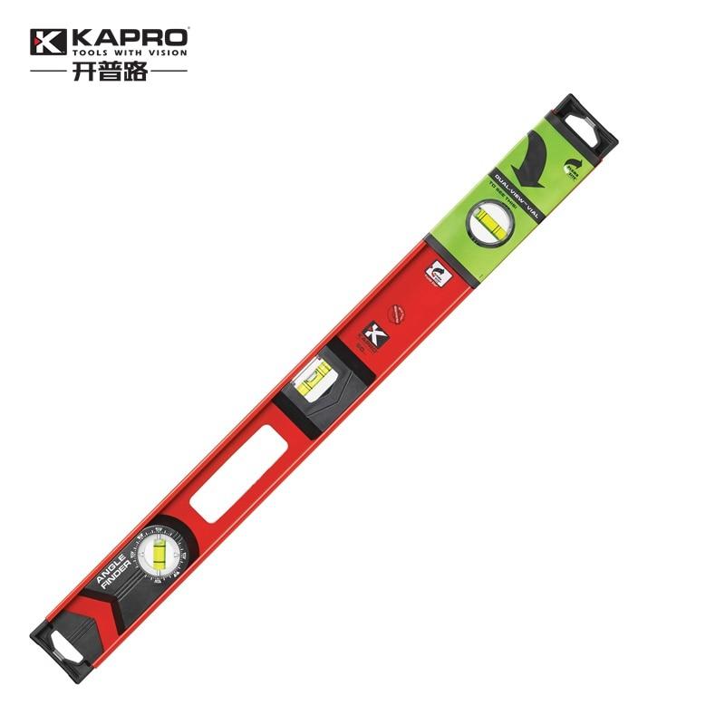 KAPRO High Precision Aluminum Alloy Horizontal ruler 360 degree Rotating bubble level 40cm 60cm