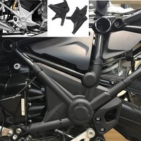 Black Motorcycle Right & Left Full Frame Guard Protector Cover for 2013 2016 BMW R1200GS LC R 1200 GS 1200GS ADV 2015 2014