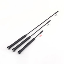 High Quality Universal 9'' 11 16''inch Screw-in AM/FM Roof Vehicle Car Antenna Whip Mast Aerial for BMW Mini Cooper Toyota Ford