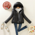 Jacket Coat Women's coat High quality Winter Warm Ultralight Parka Ladies Jacket Slim Short Padded Women 8color CD153